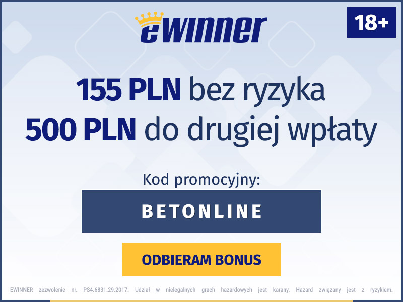 ewinner bonus bez depozytu
